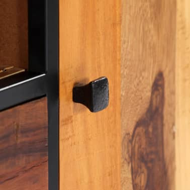 vidaXL Tv-meubel 120x30x40 cm massief gerecycled hout en staal[8/14]