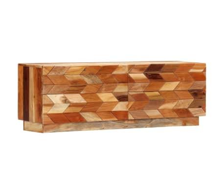 vidaXL TV stolek 120 x 30 x 40 cm masivní recyklované dřevo