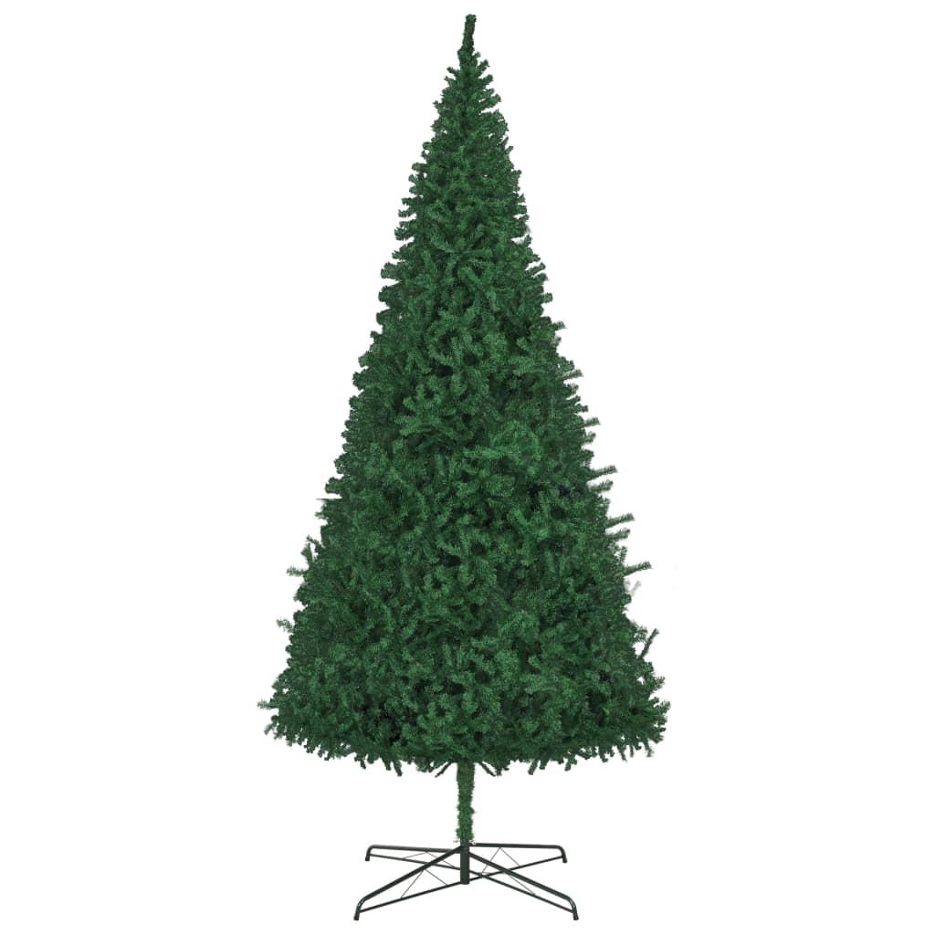 Albero Di Natale 400 Cm.Albero Di Natale Artificiale 400 Cm Verde Con Supporto In Acciaio Ebay