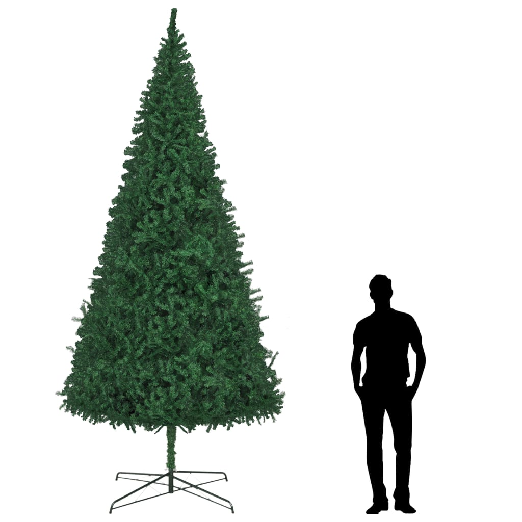 vidaXL Brad de Crăciun artificial, verde, 400 cm poza vidaxl.ro