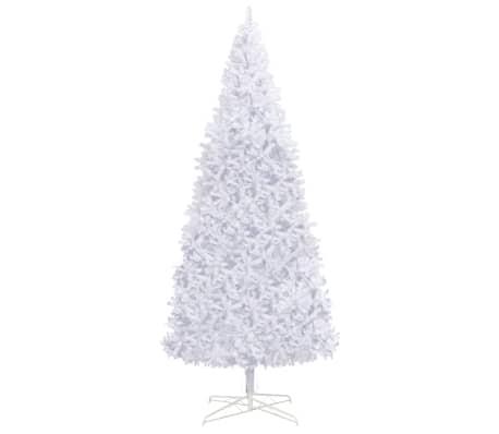 vidaXL Tekojoulukuusi 400 cm valkoinen