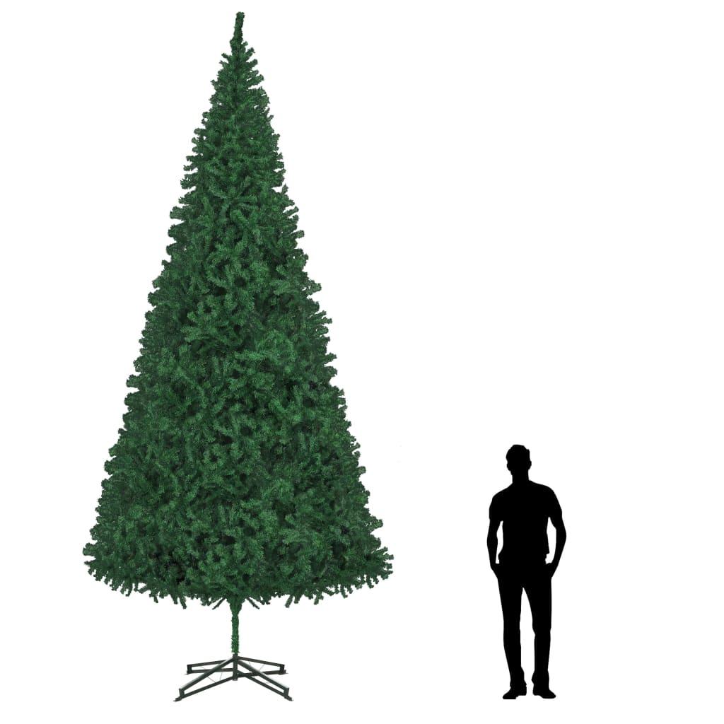 vidaXL Brad de Crăciun artificial, verde, 500 cm poza vidaxl.ro