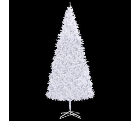 Albero Di Natale 500 Cm.Vidaxl Albero Di Natale Artificiale 500 Cm Bianco Vidaxl It