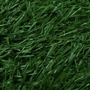 vidaXL Toilette pour animaux avec plateau et gazon artificiel Vert WC[7/9]