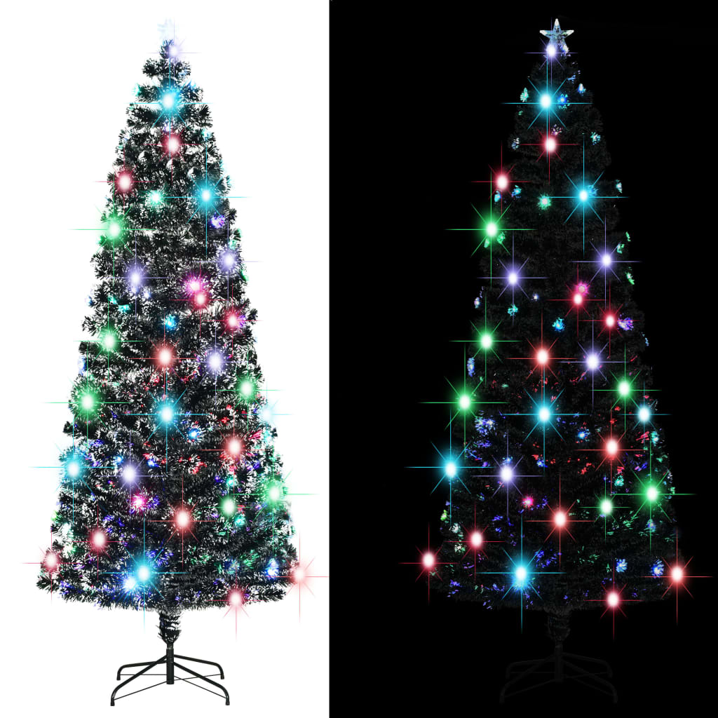 vidaXL_Albero_Natale_Artificiale_SupportoLED_240_cm