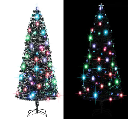 vidaXL Arbre de Noël artificiel et support/LED 240 cm 380 branches