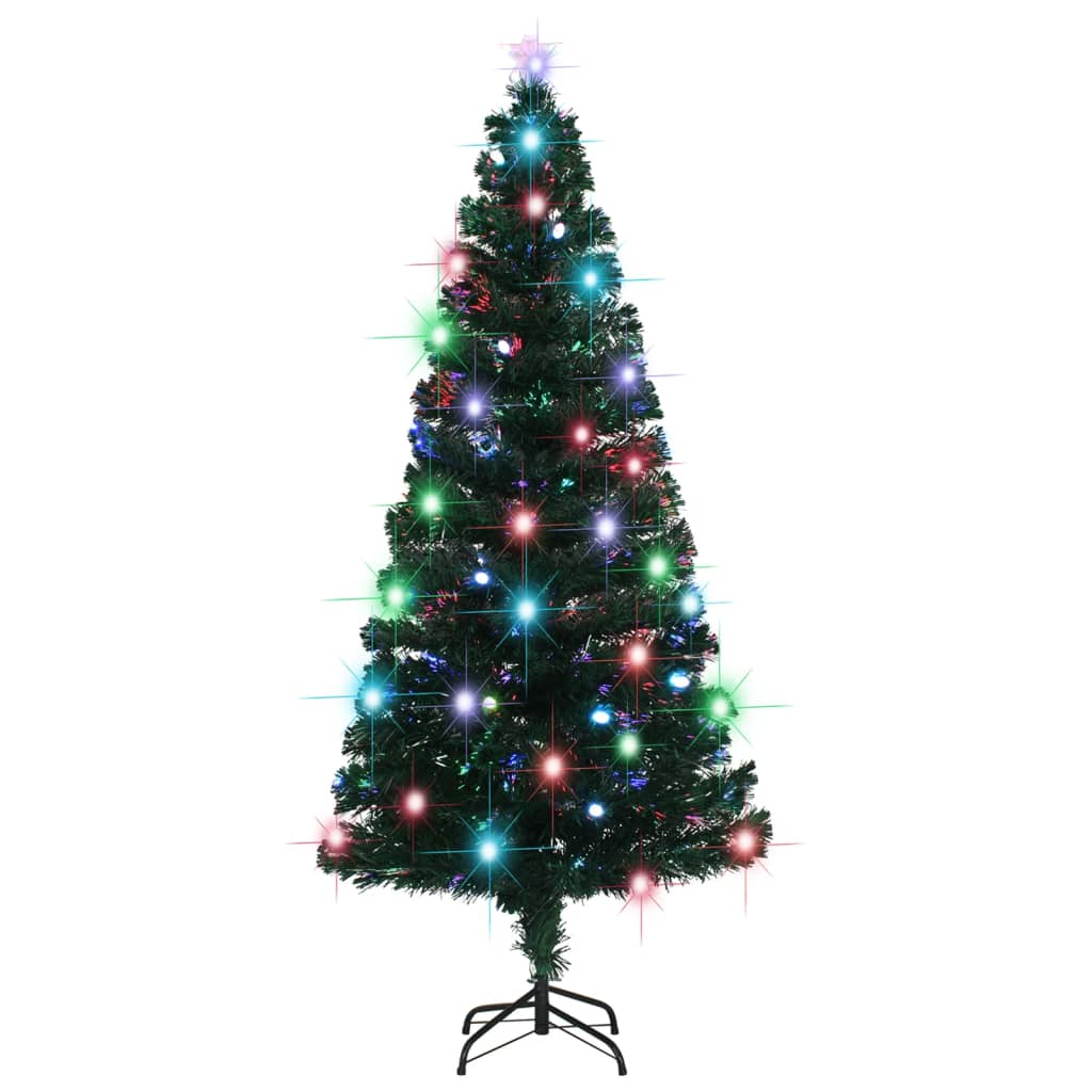 vidaXL_Albero_Natale_Artificiale_SupportoLED_180_cm