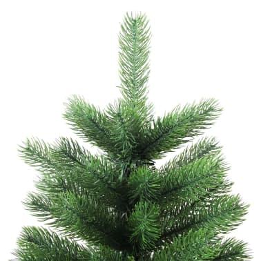 vidaXL Artificial Christmas Tree with Basket 65 cm Green[3/7]