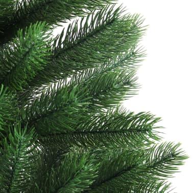 vidaXL Artificial Christmas Tree with Basket 65 cm Green[4/7]