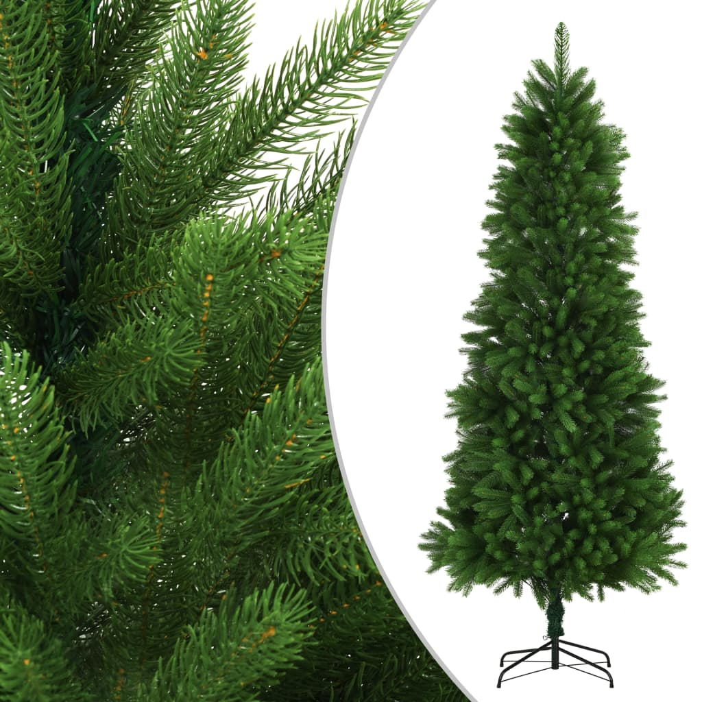 vidaXL Brad de Crăciun artificial, ace cu aspect natural, 240cm, verde vidaxl.ro