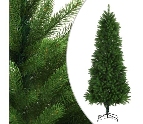 vidaXL Brad de Crăciun artificial, ace cu aspect natural, 240cm, verde