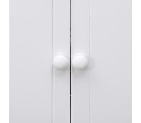 vidaXL Dulap de baie, alb, 46 x 24 x 116 cm, lemn de paulownia[6/8]