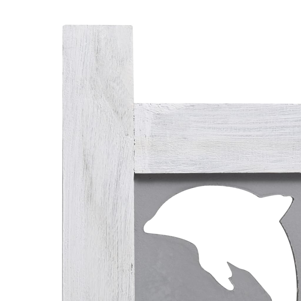 4 paneeliga sirm, hall, 140 x 165 cm, toekas puit