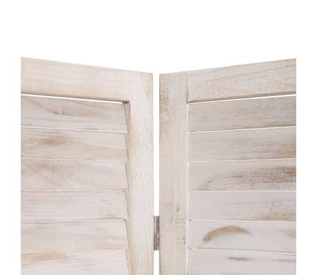 vidaXL Cloison de séparation 3 panneaux 105x165 cm Bois[5/6]