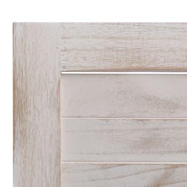 vidaXL Cloison de séparation 4 panneaux 140x165 cm Bois[6/6]