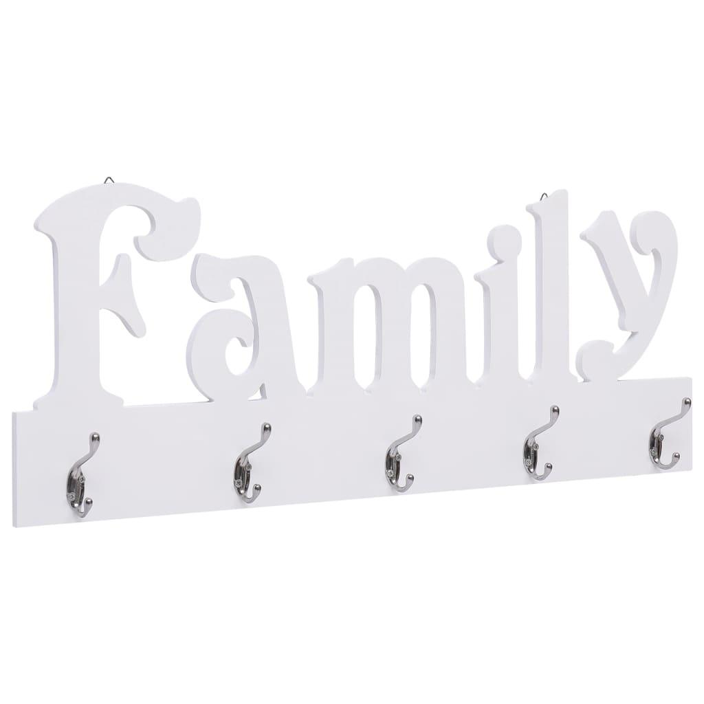 Nástěnný věšák FAMILY 74 x 29,5 cm