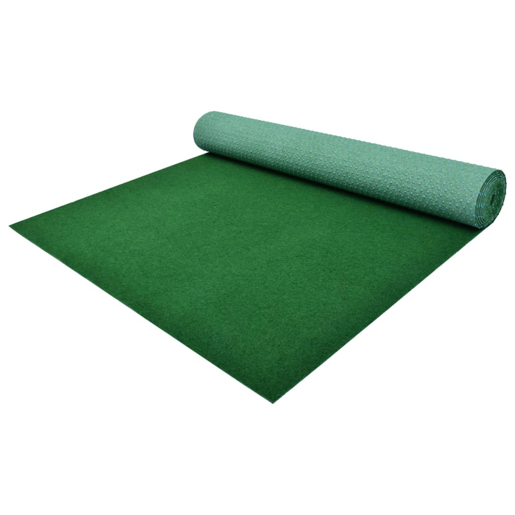 vidaXL Gazon artificial cu crampoane, verde, 2x1,33 m, PP imagine vidaxl.ro