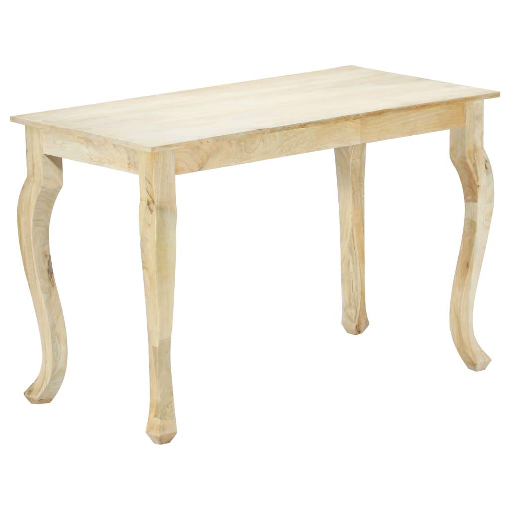 vidaXL Masă de bucătărie, 118 x 60 x 77 cm, lemn masiv de mango vidaxl.ro