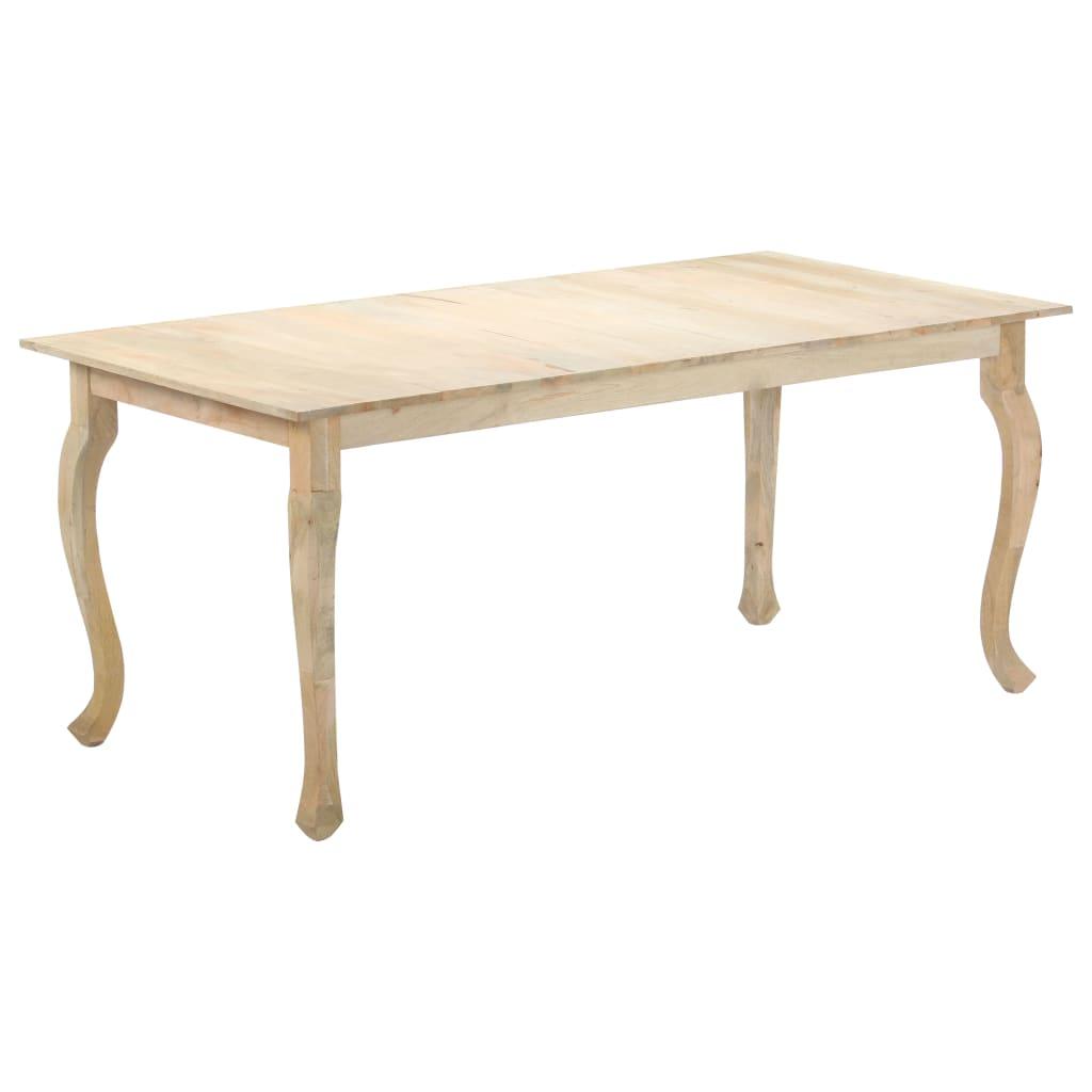 vidaXL Masă de bucătărie, 180 x 90 x 77 cm, lemn masiv de mango vidaxl.ro