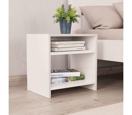 "vidaXL Side Cabinetts 2 pcs White 15.7""x11.8""x15.7"" Chipboard[3/7]"