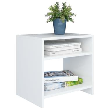 "vidaXL Side Cabinetts 2 pcs White 15.7""x11.8""x15.7"" Chipboard[4/7]"