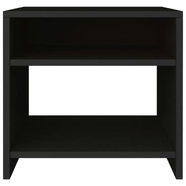 "vidaXL Side Cabinet Black 15.7""x11.8""x15.7"" Chipboard[4/6]"