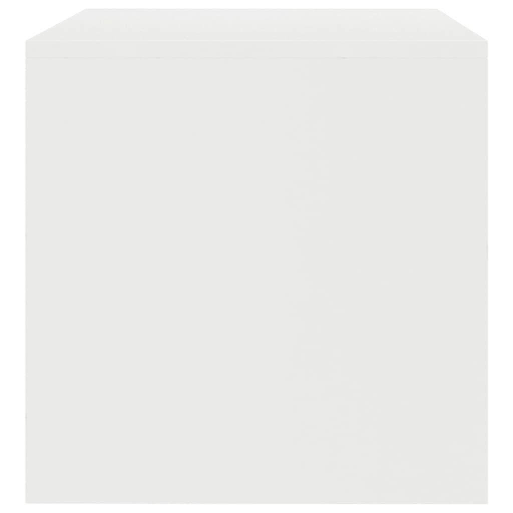 vidaXL Tv-meubel 100x40x40 cm spaanplaat wit