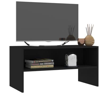 """vidaXL TV Cabinet Black 31.5""""x15.7""""x15.7"""" Chipboard[3/6]"""