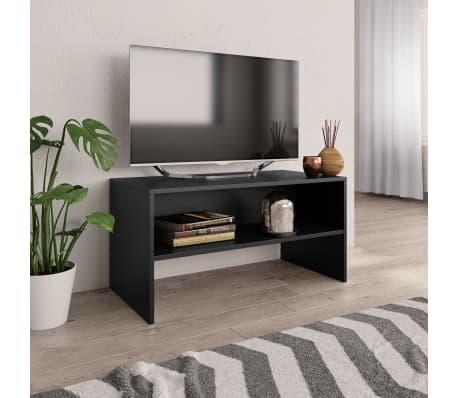 Tv Audio Meubel Lars.Vidaxl Tv Meubel 80x40x40 Cm Spaanplaat Zwart Online Vidaxl Be
