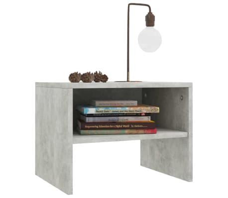 "vidaXL Side Cabinets 2 pcs Concrete Gray 15.7""x11.8""x11.8"" Chipboard[4/7]"