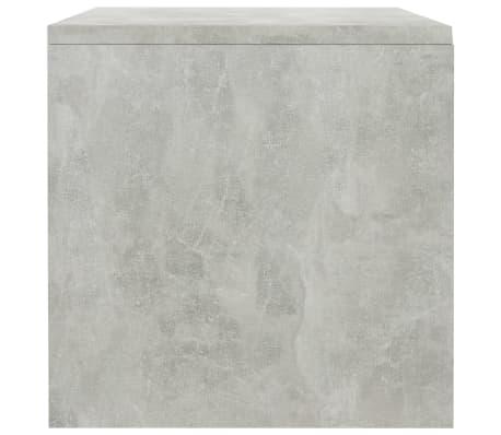 "vidaXL Side Cabinets 2 pcs Concrete Gray 15.7""x11.8""x11.8"" Chipboard[7/7]"