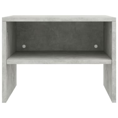 "vidaXL Side Cabinets 2 pcs Concrete Gray 15.7""x11.8""x11.8"" Chipboard[6/7]"