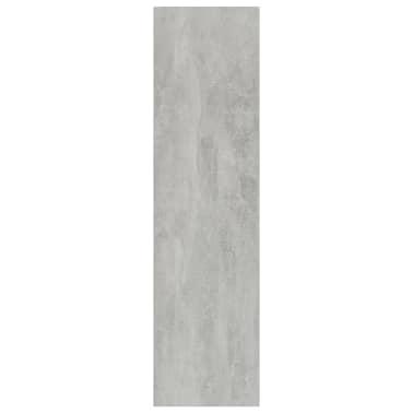 "vidaXL Book Cabinet/TV Cabinet Concrete Gray 14.2""x11.8""x44.9"" Chipboard[5/12]"
