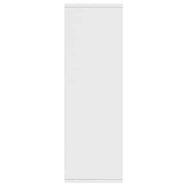"vidaXL Book Cabinet/Sideboard White 17.7""x9.8""x31.5"" Chipboard[5/12]"