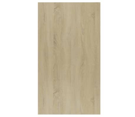 """vidaXL Book Cabinet/Sideboard Sonoma Oak 17.7""""x9.8""""x31.5"""" Chipboard[10/12]"""