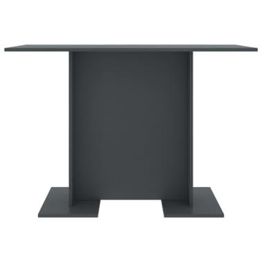 """vidaXL Dining Table Grey 43.3""""x23.6""""x29.5"""" Chipboard[3/6]"""