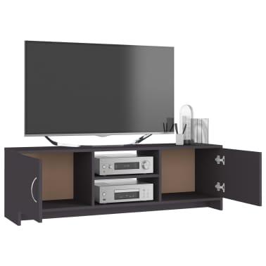 "vidaXL TV Cabinet Gray 47.2""x11.8""x14.8"" Chipboard[4/6]"