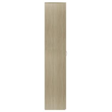 """vidaXL Shoe Cabinet Sonoma Oak 31.5""""x14""""x70.9"""" Chipboard[5/8]"""
