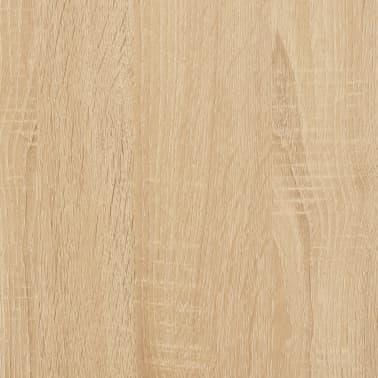 "vidaXL Wall Shelves Sonoma Oak 40.9""x9.4""x23.6"" Chipboard[6/6]"