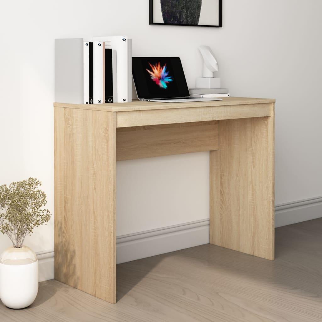Psací stůl dub sonoma 90 x 40 x 72 cm dřevotříska