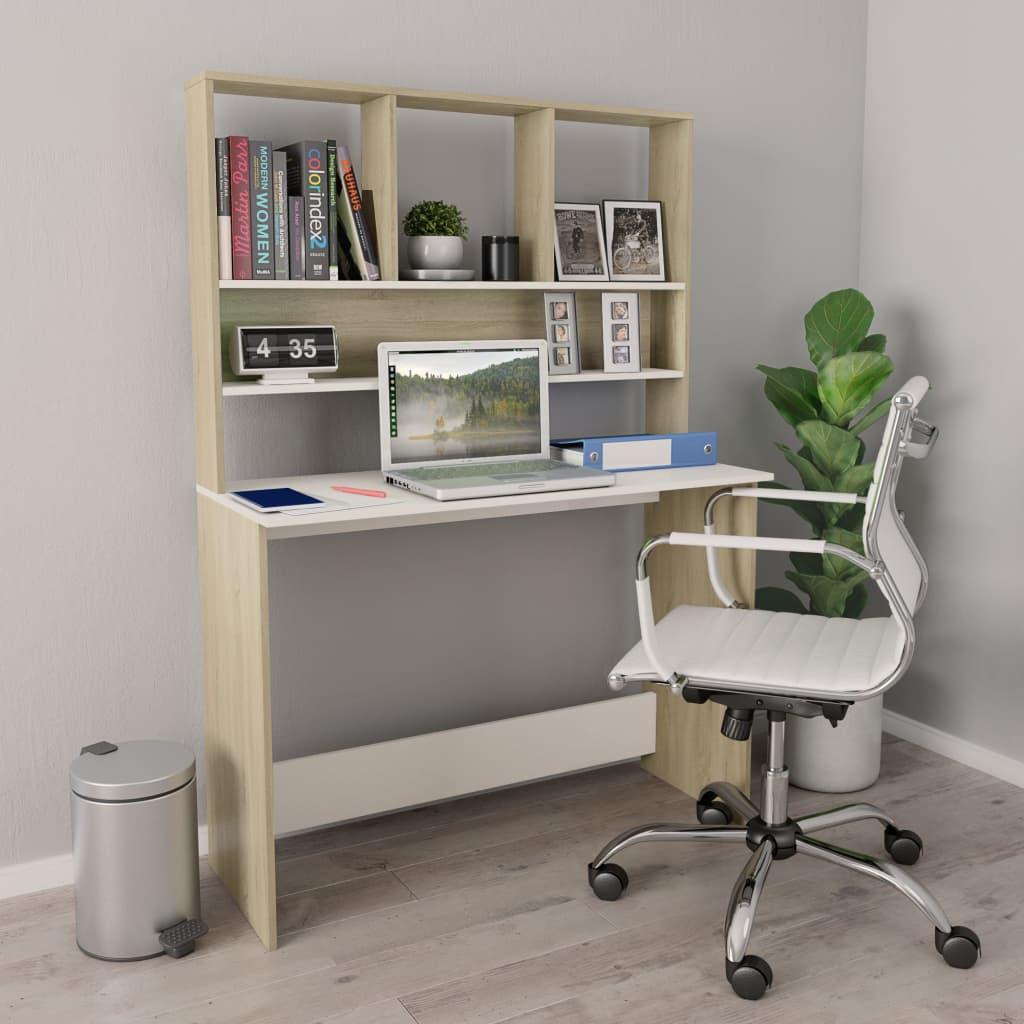vidaXL Schreibtisch Regale Spanplatte Computertisch Bürotisch mehrere Auswahl