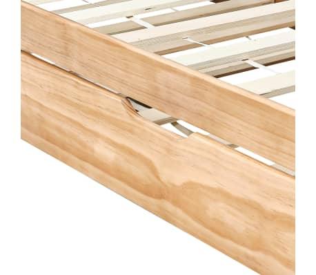 vidaXL Bedbankframe uittrekbaar grenenhout 90x200 cm[7/8]