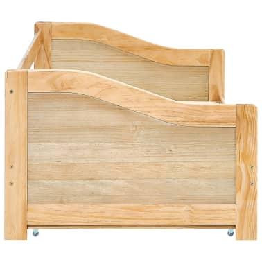 vidaXL Bedbankframe uittrekbaar grenenhout 90x200 cm[6/8]