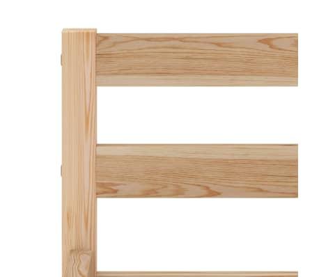 vidaXL Cadru de pat, 90 x 200 cm, lemn masiv de pin[5/7]