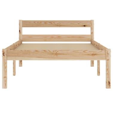 vidaXL Cadru de pat, 90 x 200 cm, lemn masiv de pin[3/7]