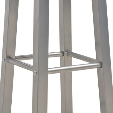 vidaXL barstole 2 stk. MDF antracitgrå[5/6]