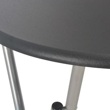 vidaXL Bartafel 60x112 cm MDF zwart[5/6]