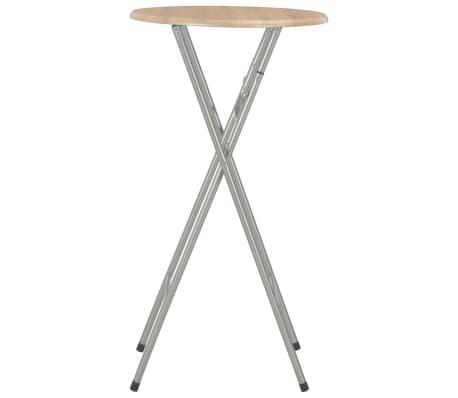 vidaXL Baro stalai, 4vnt., ąžuolo sp., 60x112 cm, MDF[4/7]