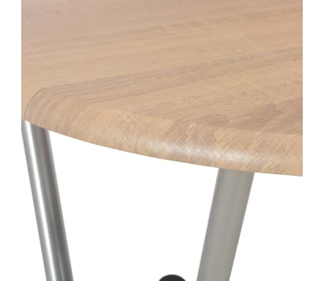 vidaXL Baro stalai, 4vnt., ąžuolo sp., 60x112 cm, MDF[6/7]