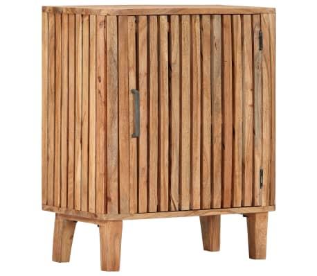 vidaXL Servantă, 60 x 35 x 73 cm, lemn masiv de acacia